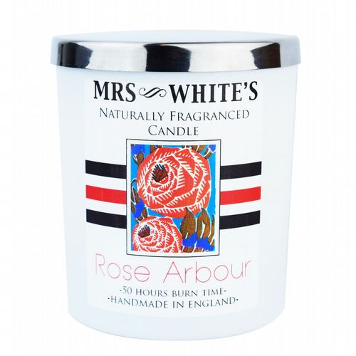 Mrs White's - Scented Candle  - Rose Arbour